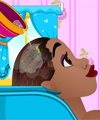 Princess tiana hair salon